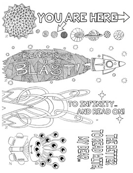 Bookmarks Outer Space