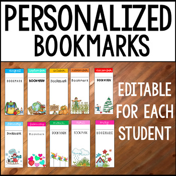 Bookmarks: Personalized and Editable