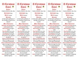 A Christmas Carol edition of Bookmarks Plus—Fun Freebie & Handy Reading Aid!