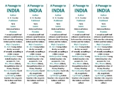 A Passage to India edition of Bookmarks Plus—Fun Freebie & Handy Reading Aid!