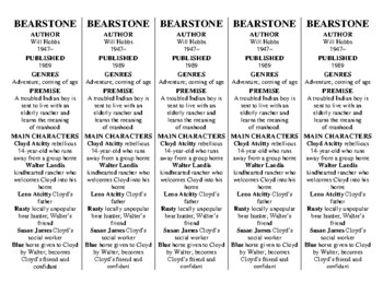 Bearstone edition of Bookmarks Plus—Great Gift and a Handy Little Reading Aid!