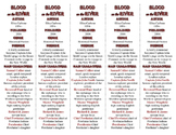 Blood on the River edition of Bookmarks Plus—Fun Freebie & Handy Reading Aid!
