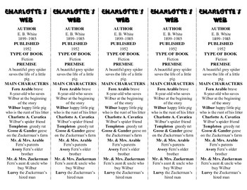 Charlotte's Web edition of Bookmarks Plus—Fun Freebie & Handy Reading Aid!