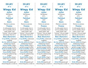 Diary of a Wimpy Kid edition of Bookmarks Plus—Fun Freebie/Handy Reading Aid!