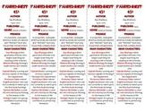 Fahrenheit 451 edition of Bookmarks Plus—Fun Freebie & Handy Reading Aid!