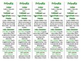 Frindle edition of Bookmarks Plus—Fun Freebie & Handy Reading Aid!
