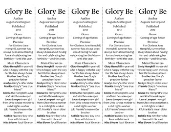 Glory Be edition of Bookmarks Plus—Fun Freebie & Handy Little Reading Aid!