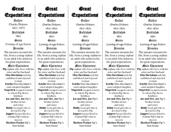 Great Expectations edition of Bookmarks Plus—Fun Freebie & Handy Reading Aid!