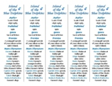 Island of the Blue Dolphins ed. of Bookmarks Plus—Aids und