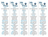 Julie of the Wolves edition of Bookmarks Plus—Aids understanding of the book!