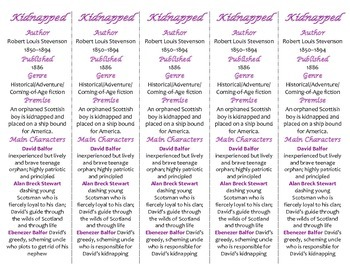 Kidnapped edition of Bookmarks Plus—Fun Freebie & Handy Reading Aid!