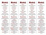 Macbeth edition of Bookmarks Plus—Fun Freebie & Handy Reading Aid!