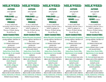Milkweed edition of Bookmarks Plus—Fun Freebie & Handy Reading Aid!