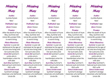 Missing May edition of Bookmarks Plus—Fun Freebie & Handy Reading Aid!