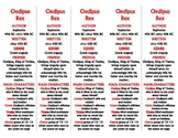 Oedipus Rex edition of Bookmarks Plus—Fun Freebie & Handy Reading Aid!