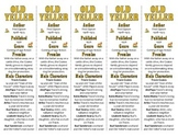 Old Yeller edition of Bookmarks Plus—Fun Freebie & Handy Reading Aid!