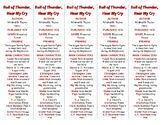 Roll of Thunder, Hear My Cry edition of Bookmarks Plus—Aid