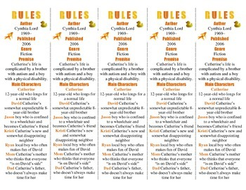 Rules edition of Bookmarks Plus—A Very Handy Reading Aid!