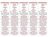 Superfudge edition of Bookmarks Plus—Fun Freebie & Handy Reading Aid!