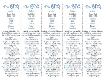 The BFG edition of Bookmarks Plus—A Handy Little Reading Aid!
