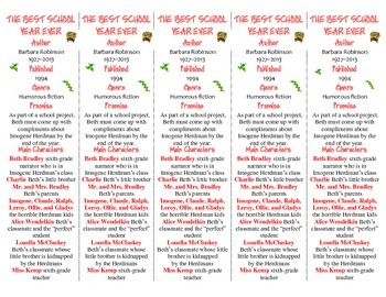 The Best School Year Ever ed. of Bookmarks Plus—Fun Freebie/Handy Reading Aid!