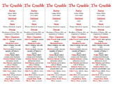 The Crucible edition of Bookmarks Plus—Aids understanding