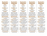 The Devil's Arithmetic ed. of Bookmarks Plus—Fun Freebie & Handy Reading Aid!
