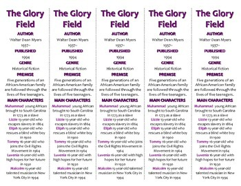 The Glory Field edition of Bookmarks Plus—Fun Freebie & Handy Reading Aid!