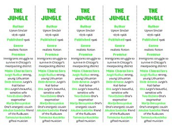 The Jungle edition of Bookmarks Plus—Fun Freebie & Handy Reading Aid!