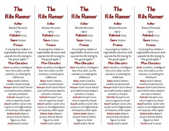 The Kite Runner edition of Bookmarks Plus—A Handy Little R