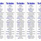 The Outsiders edition of Bookmarks Plus—Fun Freebie & A Ha