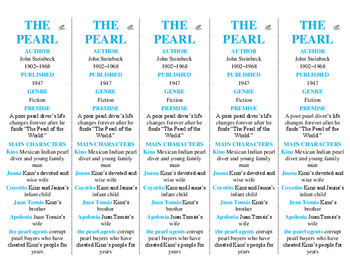 The Pearl edition of Bookmarks Plus—Fun Freebie & Handy Reading Aid!