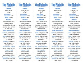 The Pinballs edition of Bookmarks Plus—Fun Freebie & Handy Reading Aid!