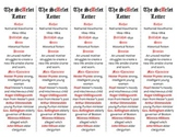 The Scarlet Letter edition of Bookmarks Plus—Fun Freebie & Handy Reading Aid!