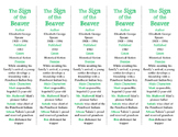 The Sign of the Beaver ed. of Bookmarks Plus—Fun Freebie & Handy Reading Aid!