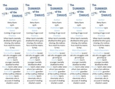The Summer of the Swans ed. of Bookmarks Plus—Fun Freebie & Handy Reading Aid!