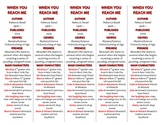 When You Reach Me edition of Bookmarks Plus—Fun Freebie & Handy Reading Aid!