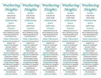 Wuthering Heights edition of Bookmarks Plus—A Handy Reading Aid!