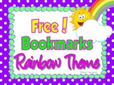 Bookmarks Rainbow Theme {Free}