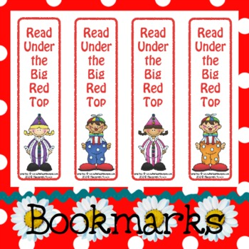 Bookmarks: Read Under the Big Red Top