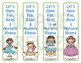 Bookmarks: Read a Nursery Rhyme 1