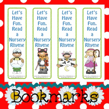 Bookmarks: Read a Nursery Rhyme 2