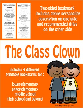 Bookmarks--Recommendations for Class Clowns