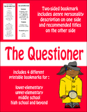 Bookmarks--Recommendations for Questioners