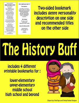 Bookmarks--Recommendations for The History Buff