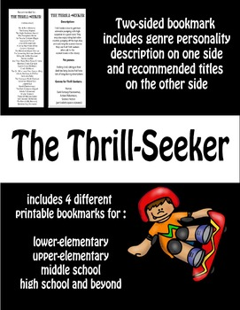 Bookmarks--Recommendations for Thrill-Seekers