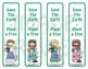Bookmarks: Save The Earth = Plant a Tree