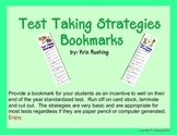Bookmarks: Test Taking Strategies
