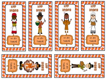 Bookmarks {Thanksgiving} For Kids