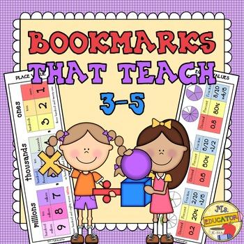 Bookmarks That Teach (3rd-5th)
